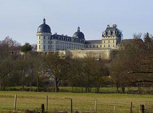 circuit touristique autour de Valençay château