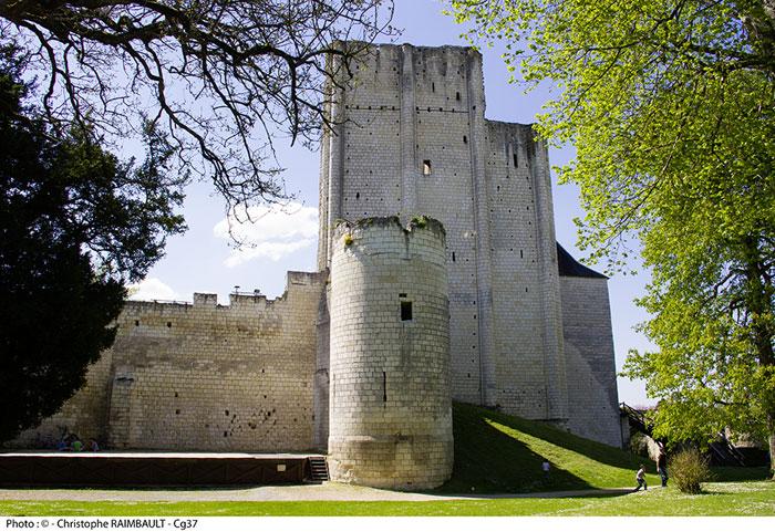 monuments et châteaux de la Loire ouverts tous les jours de l'année Forteresse de Loches