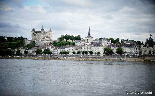 Château de Saumur invasions vikings sur la Loire barbares