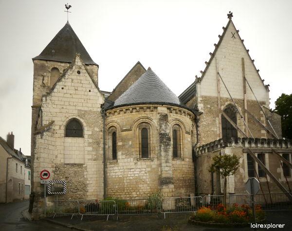 mottes castrales et vikings église Saint Martin le Beau invasions vikings