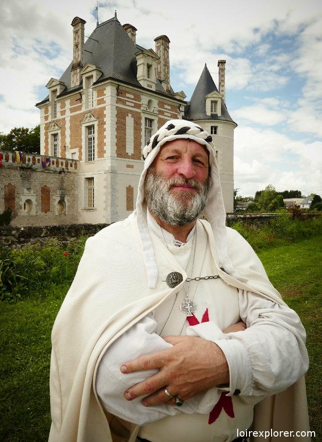 Camp médiéval fête médiévale château de Selles sur Cher
