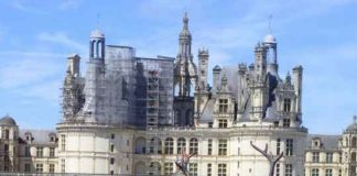 brocante au château de Chambord