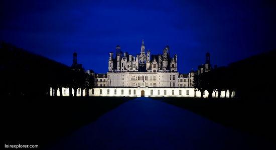 Quels châteaux de la Loire se visitent Château de Chambord