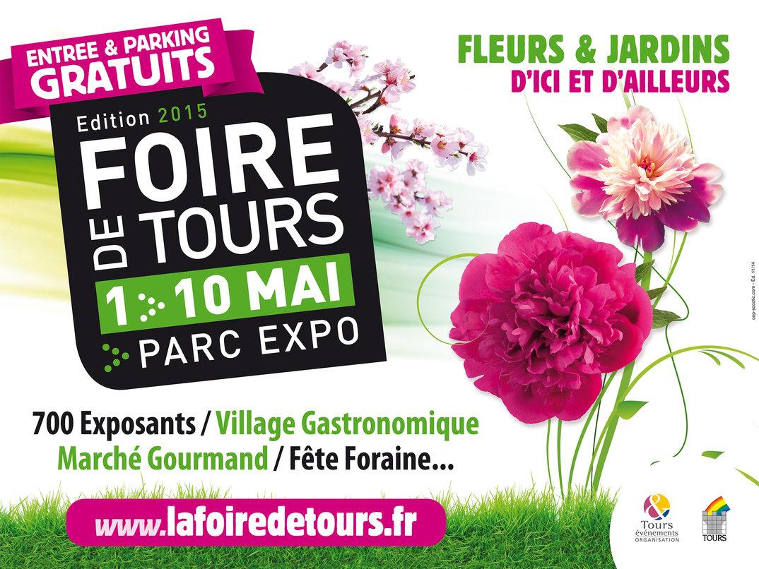 Foire de Tours exposition de fleurs