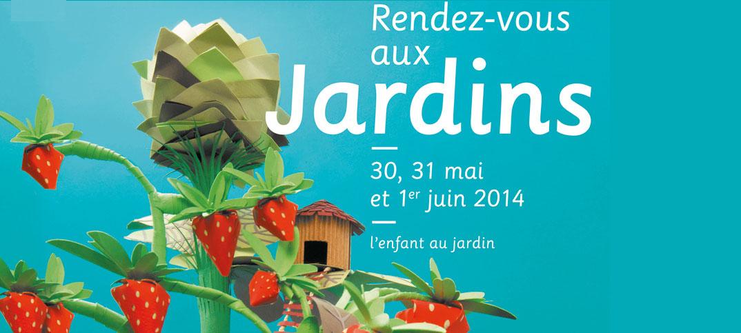 Opération rendez vous aux jardins en région centre et Val de Loire organisé par le Ministère de la Culture