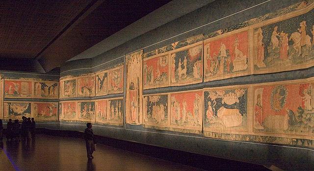 tenture de l'Apocalypse au Château d'Angers