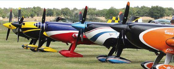 Championnat du monde de voltige Châteuroux avion acrobatique