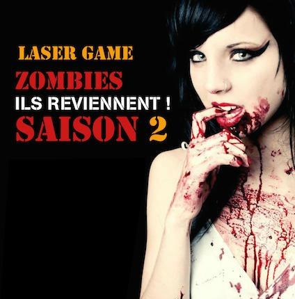 laser Game Zombie Halloween Villentrois Terranima