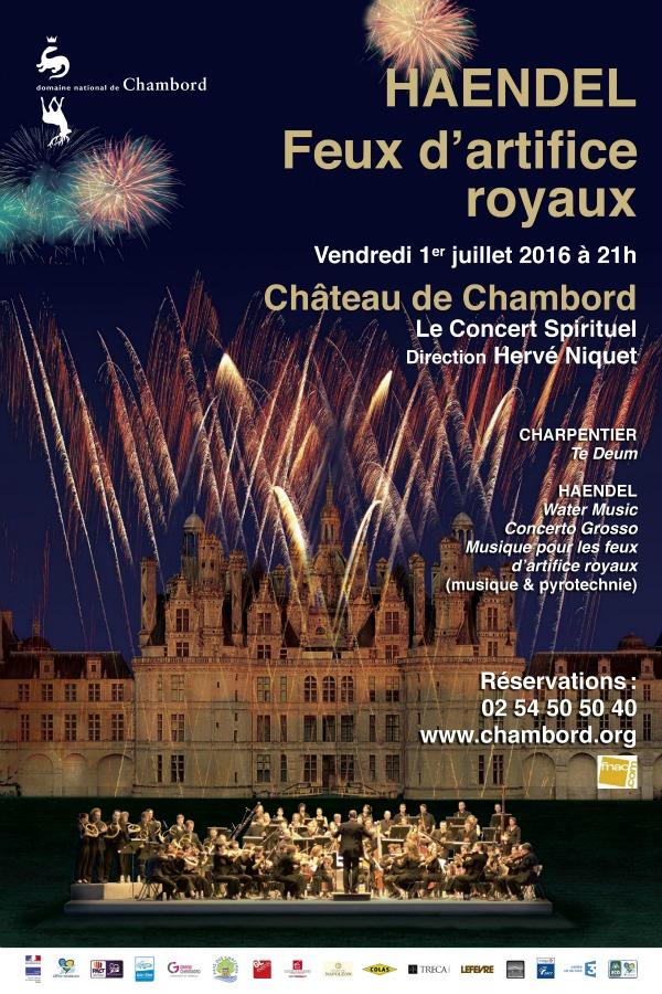 Haendel à Chambord concert : soirée d'été insolite et baroque en Sologne