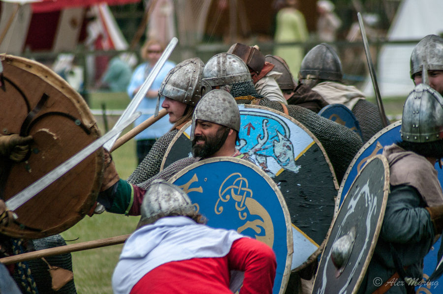invasions vikings sur la Loire barbares