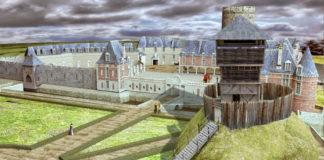 motte castrale devient le château de la Loire château de Selles sur Cher