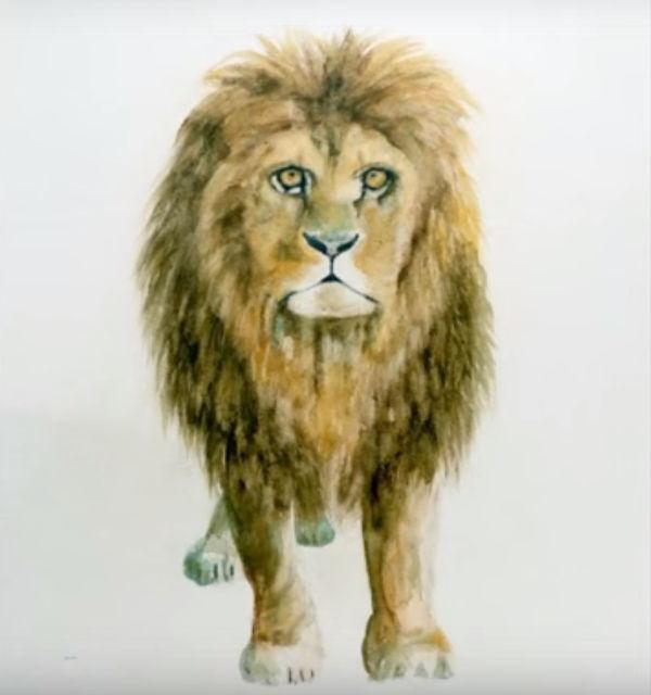 Music'Art exposition de peinture sculpture à Pierrefitte-sur-sauldre avec le lion d' Yseult Carré