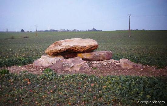 Dolmen du Petit Creuset à Luçay le Libre mégalithe menhir néolithique préhistoire région Centre Indre