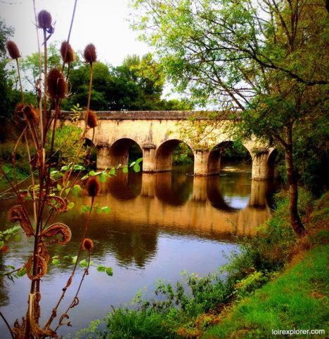 lieu insolite en Loir et Cher curiosité Pont de Sauldre