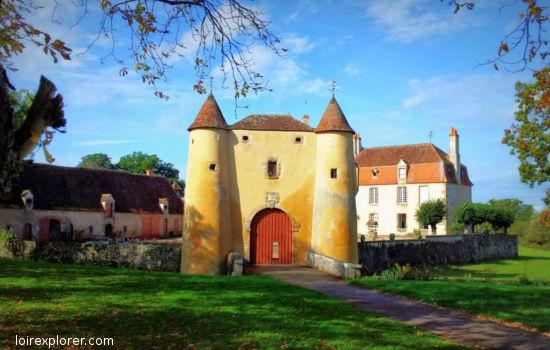 Château du Breuil Orsennes châteaux qui se visitent région centre
