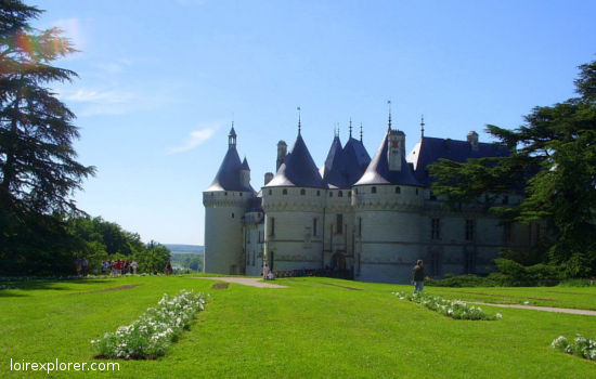 Château de Chaumont sur Loire châteaux qui se visitent région centre jardin parc