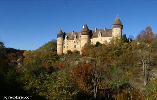 Château de Culan château fort qui se visitent région centre