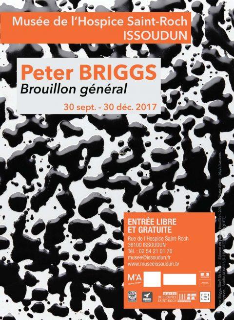 Exposition Peter Briggs Brouillon général - Issoudun Musée de l Hospice Saint-Roch