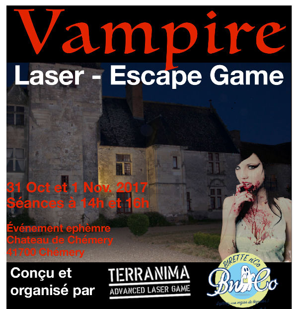 Escape Game Laser Game Halloween