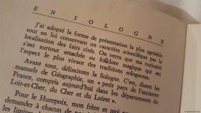 En Sologne, Moeurs et coutumes de Claude Seignolle - Avant-propos - Éditions G.-P. Maisonneuve et Larose - 1967 © Yseult Carré