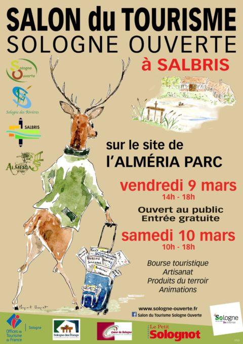Salon du tourisme sologne ouverte loirexplorer for Salon e tourisme