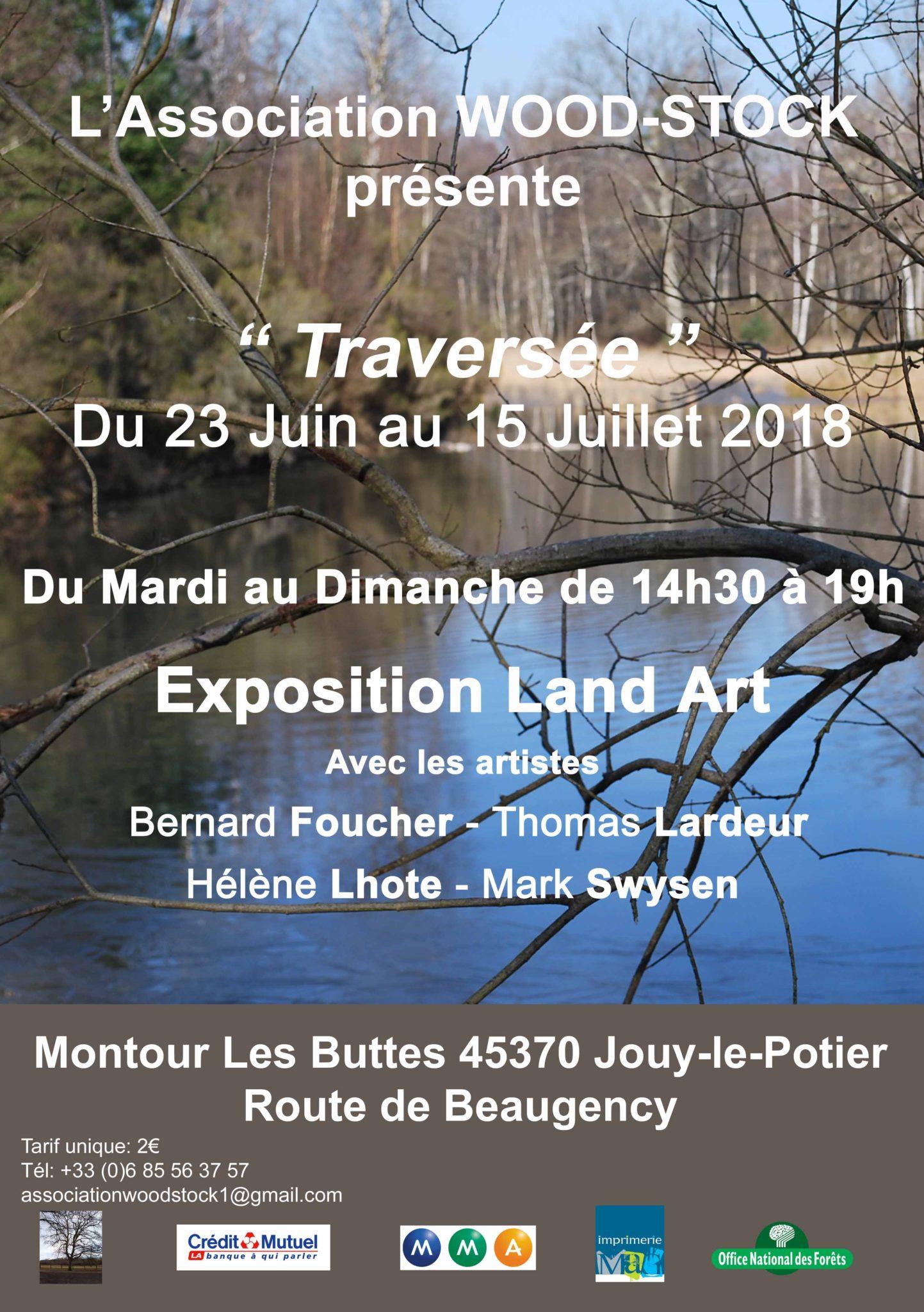 WOOD-STOCK « Traversée » Exposition Land Art en Sologne