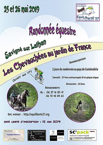 11è chevauchées au jardin de France